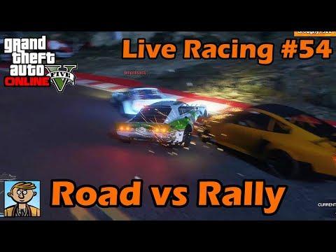 Road vs Rally - GTA Live Racing #54