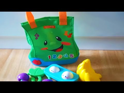 Fisher Price Laugh and Learn SING SHOPPING BAG Toddler ...