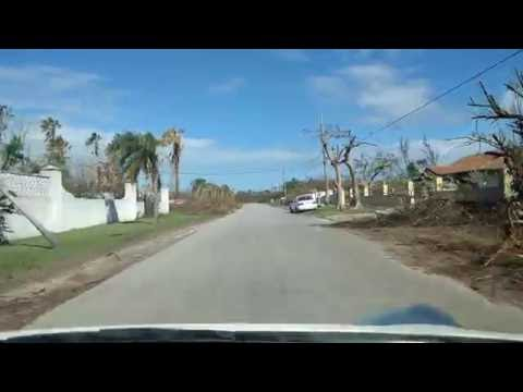 Freeport, Bahamas - 3 weeks after hurricane Matthew
