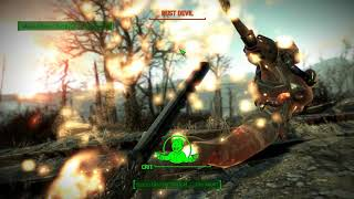 Fallout 4 Main Quest | Epic Faill !! Integrated Scrapbot ! Where did you come from !
