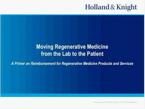 Webinar: Reimbursement Strategies for Stem Cell Therapy Prod