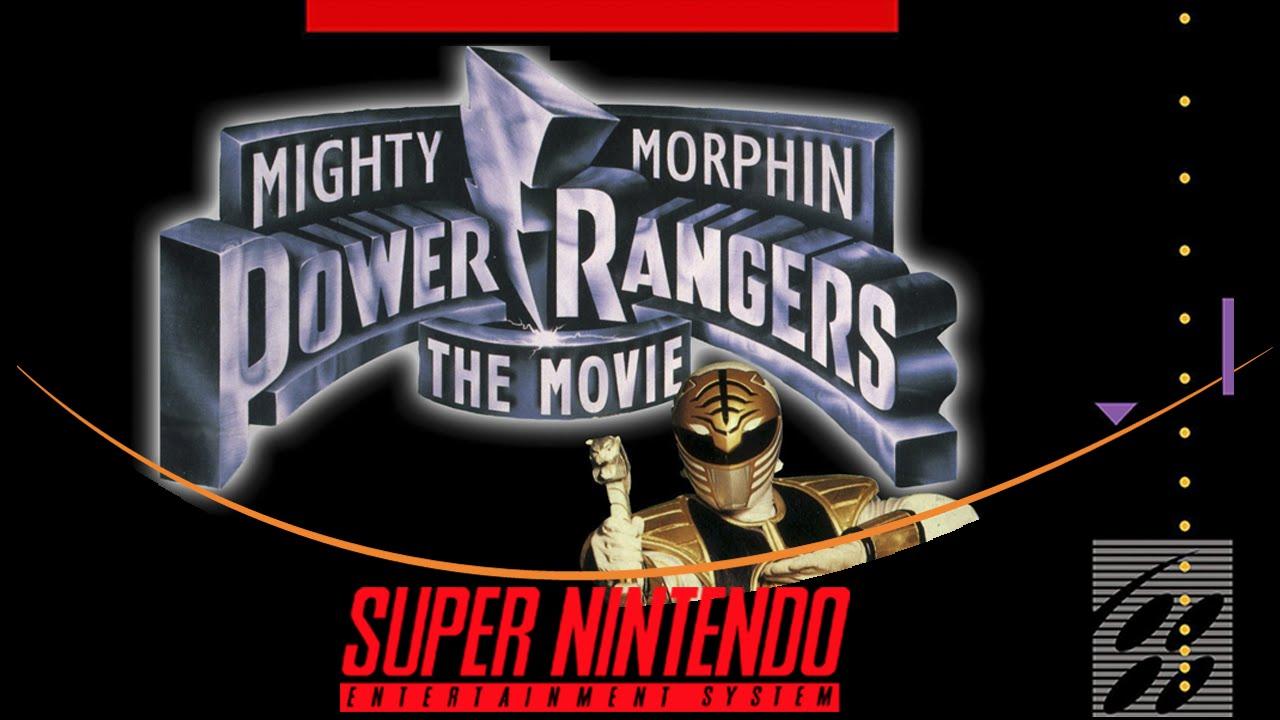 Mighty Morphin Power Rangers: The Movie [Super Nintendo] - YouTube