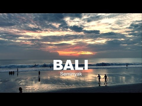 THE BEST SUNSET OF SEMINYAK  and UBER in BALI