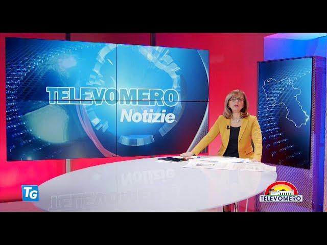 TELEVOMERO NOTIZIE 2 MARZO 2021 EDIZIONE delle  20 30