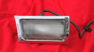 1964 1965 Oldsmobile 98 Cornering Lamps