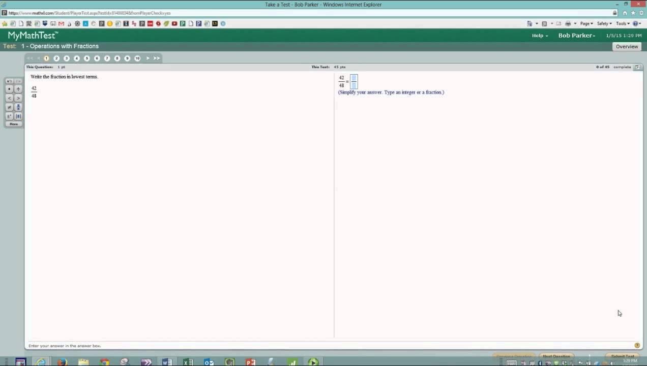 RCC VPT Math Practice Program Overview 720 - YouTube