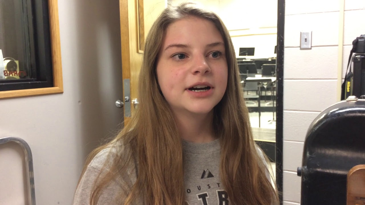 Olivia Lidiak reflects on her 4-year all-state choir career at Sheldon HS