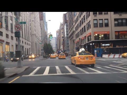 Evening Drive - Park Avenue - New York City New York