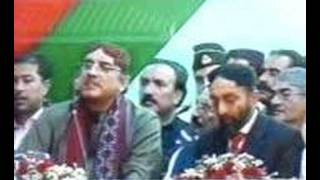 MQM Welcome Asif Ali Zardari at 90 Azizabad Karachi Part4