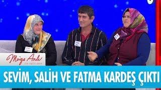 Sevim, Salih ve Fatma kardeş çıktı! - Müge Anlı İle Tatlı Sert 14 Şubat 2018