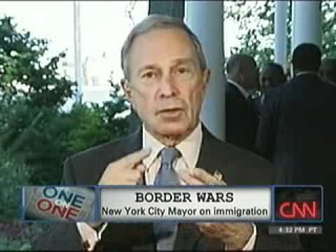 CNN Immigration Interview with Mayor Bloomberg -- 07.01.2010