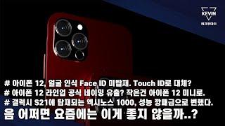 아이폰 12, 이제는 Face ID 까지 미탑재 한다.…