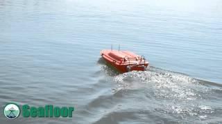Seafloor Systems R/C Boat with Sonarmite Echosounder