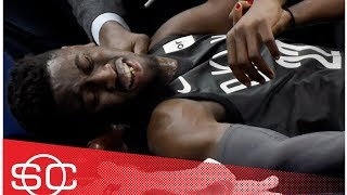 Caris LeVert's injury described as 'gruesome, significant, horrific' | SportsCenter