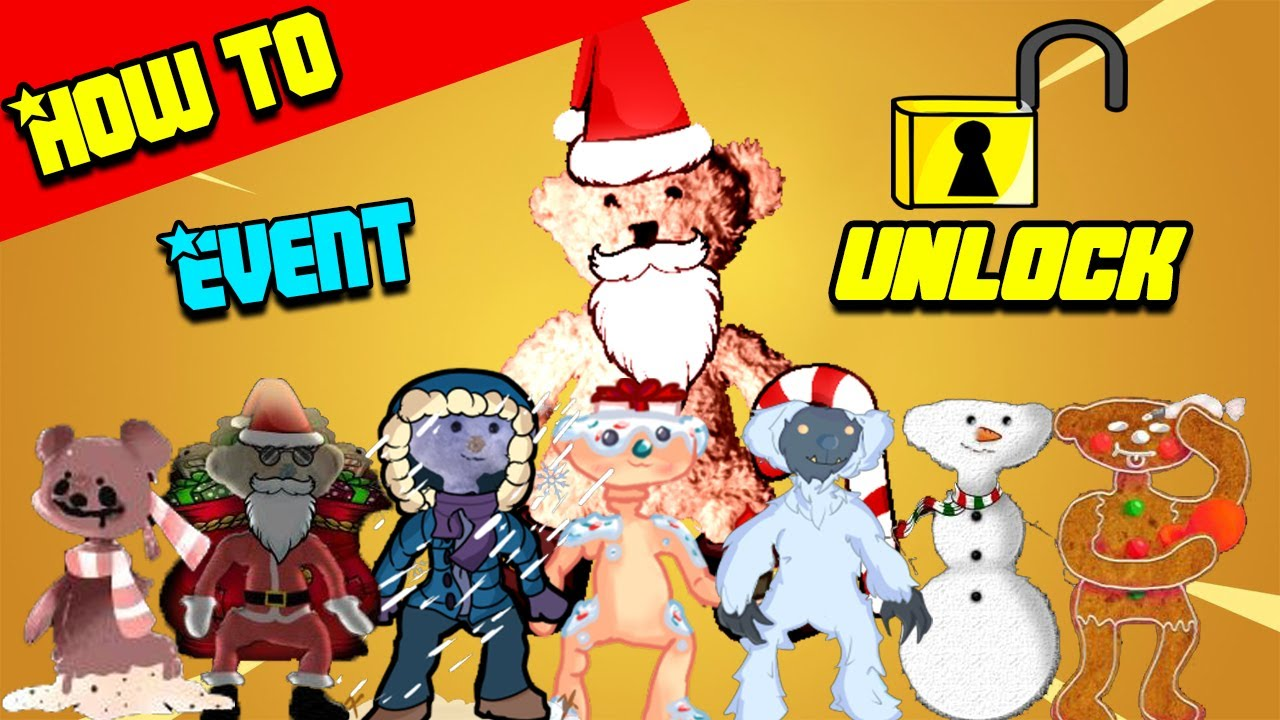 How To Unlock Christmas Event Skins Secret Lobby With 2 Badges