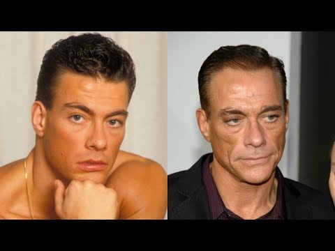 JeanClaude Van Damme transformation from 1 to 57 years old