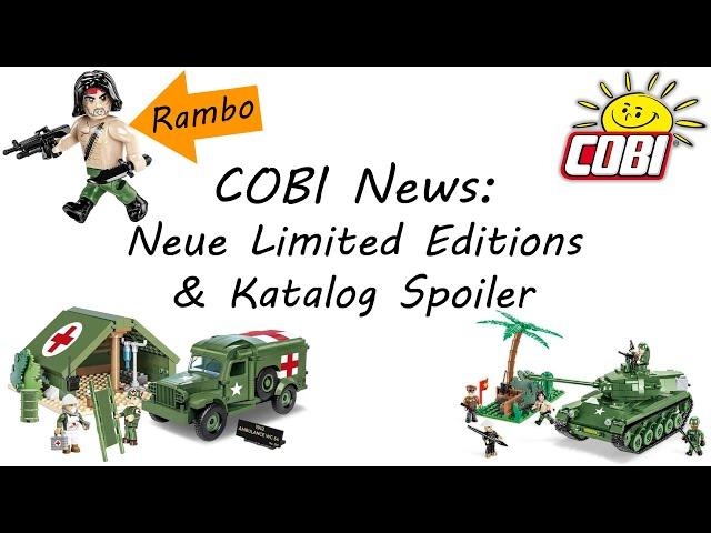COBI News: Rambo, neue Limited Editions & weitere News aus der COBI Welt