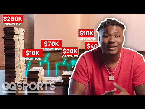 How Dwayne Haskins Spent His First $1M in the NFL