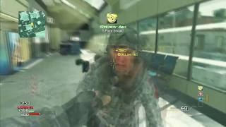 INSANE MW3 THROWING KNIFE MONTAGE!