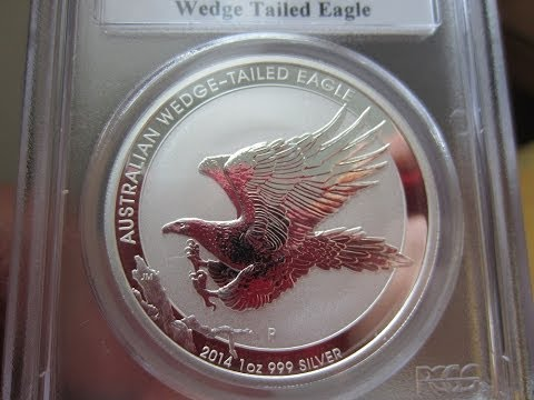 Wedge Tail Eagle 1oz coin - Bullion, Proof, HR comparison