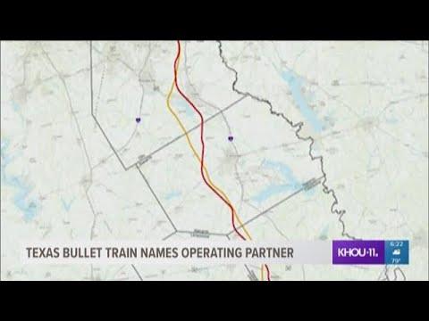 Texas bullet train announces operating partner