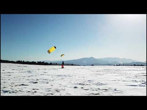 美ヶ原 スノーカイトクラブ Snow Kite