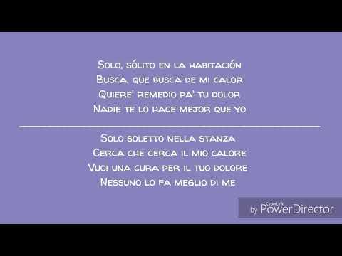 Sin pijamas - Becky G ft. Natti Natasha//Letra + Traduzione italiano