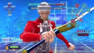 Fate/Extella - Archer / Mumei Emiya Gameplay