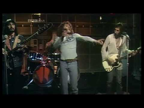 THE WHO - Long Live Rock  (1973 UK TV Appearance) ~ HIGH QUALITY HQ ~