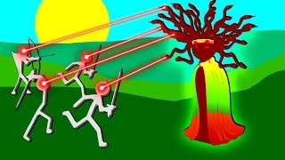 Medusa did WHAT To Our Stickmen Army?! - Stick War 2 Order Empire