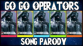 ♪ GO GO OPERATORS!! (Power Rangers Rainbow Six Siege Parody)