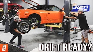 Rebuilding (And Heavily Modifying) A 1989 Nissan 240SX Hatchback - (Part 5)
