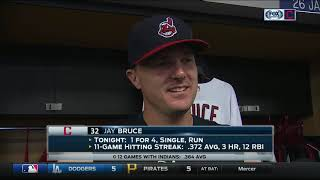 Jay Bruce loved first experience at Progressive Field & feels Cleveland Indians can always win