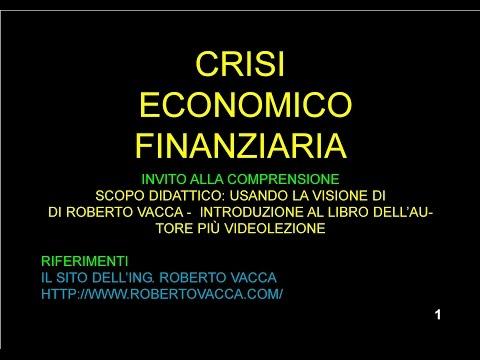 ECONOMIA FINANZA Divulgazione R  Vacca Crisi Economica 2010
