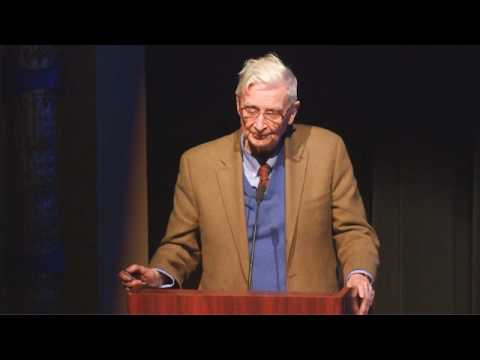 "Biodiversity Days 2017: E.O. Wilson, ""Half-Earth: How to Save the Natural World"""