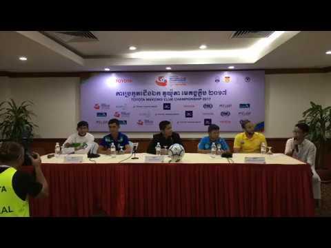 TMCC 2017 Round 1 (2nd Leg) Pre-match Press Conference
