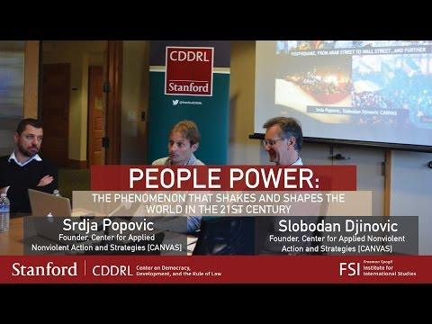 People Power: The Phenomenon that Shakes and Shapes the World in the 21st Century