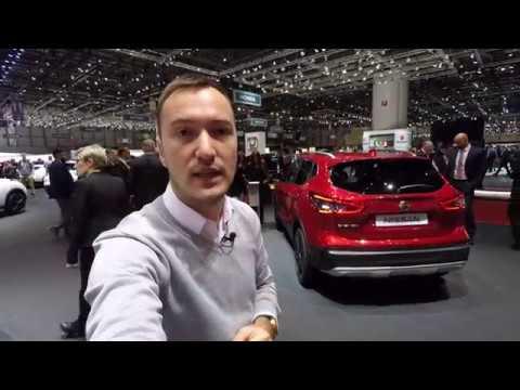 Nissan Qashqai Facelift @ Geneva