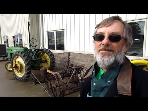 North Dakota Man Loves Antique John Deere Tractors & Dodge Trucks