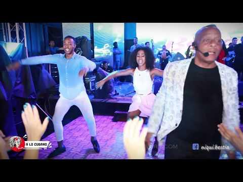"Agua pa Yemaya en vivo - Rumba cubana, salsa cubana, afro salsa , ""Baila en Cuba 2017"". Elito Revé"