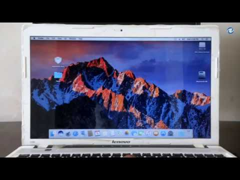 macOS Sierra on Lenovo Z580 ideapad Laptop | Hackintosh |