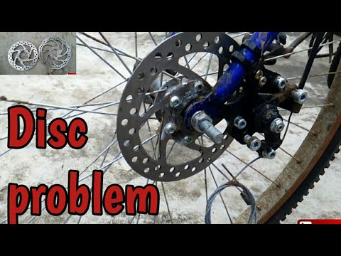 How to fix disc break problem in in any cycle