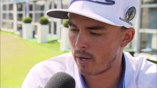 Rickie Fowler @The Open Live interview