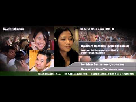 2014 03 31 ASEAN Breakfast Call : Myanmar's Transition Towards Democracy