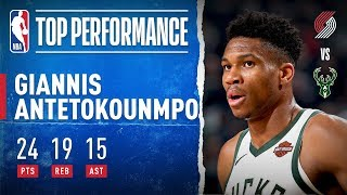 Giannis GOES OFF For Triple-Double (CAREER-HIGH 15 AST)!