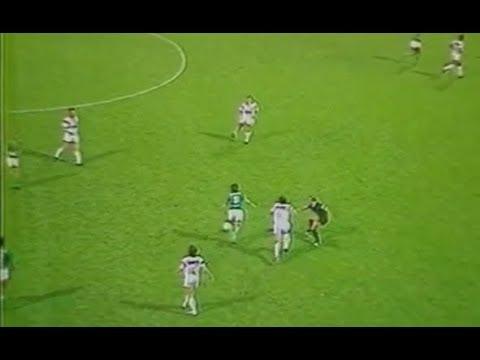 ASSE 1-1 Brest - 10e journée de D1 1986-1987