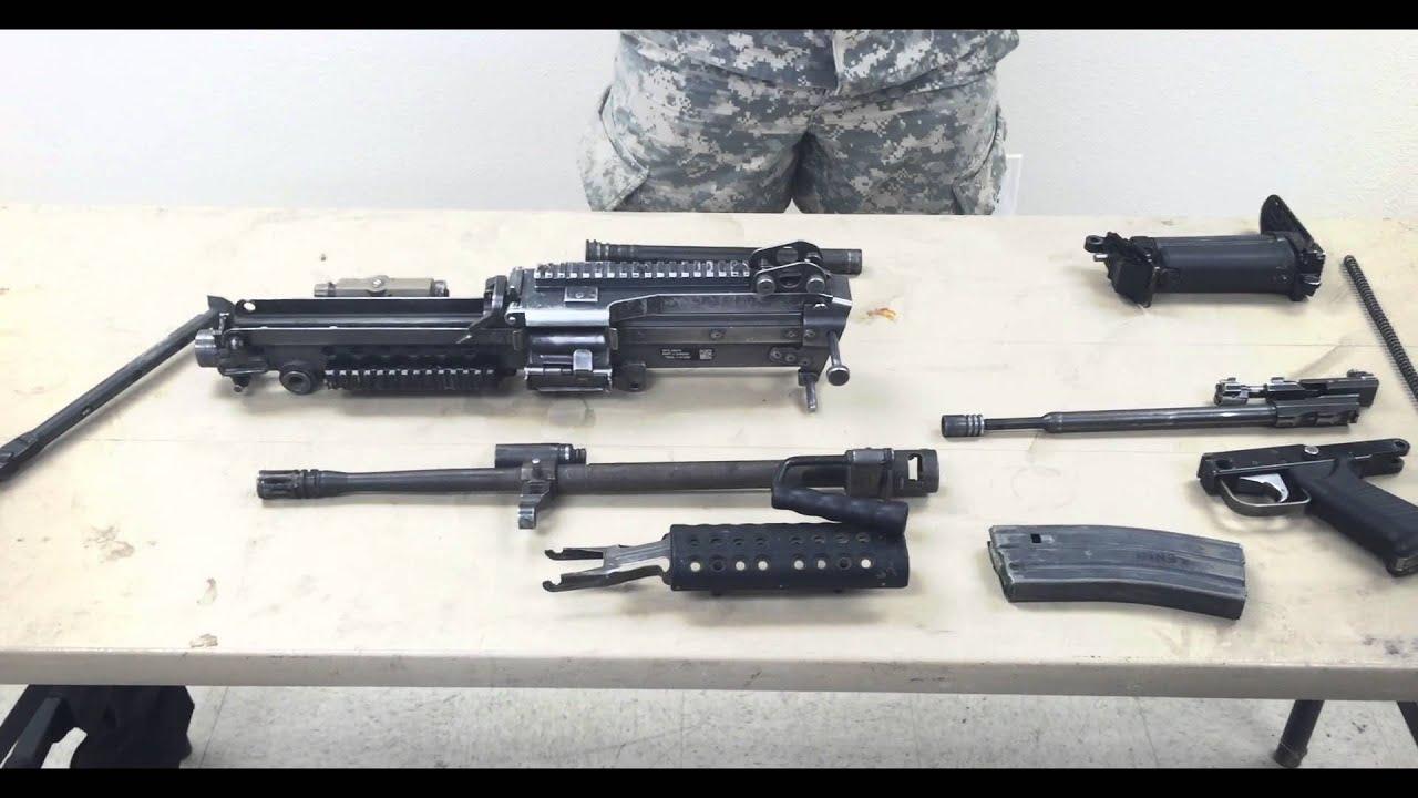 EIB: M249 SAW Machine Gun Walk/Talk Speed - YouTube