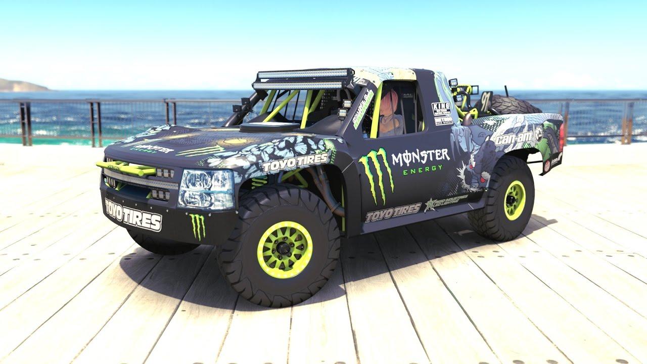 Forza Horizon Baldwin Motorsports Monster Energy