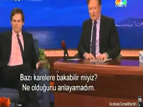 Michael C  Hall   Dexter'ın İstanbul Anıları   Conan O'Brien