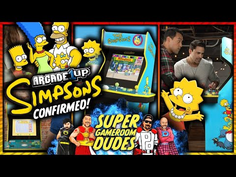 Arcade1Up The Simpsons Cabinet - E3 2021 - Will you buy it? We want your feedback! from Super GameRoom Dudes